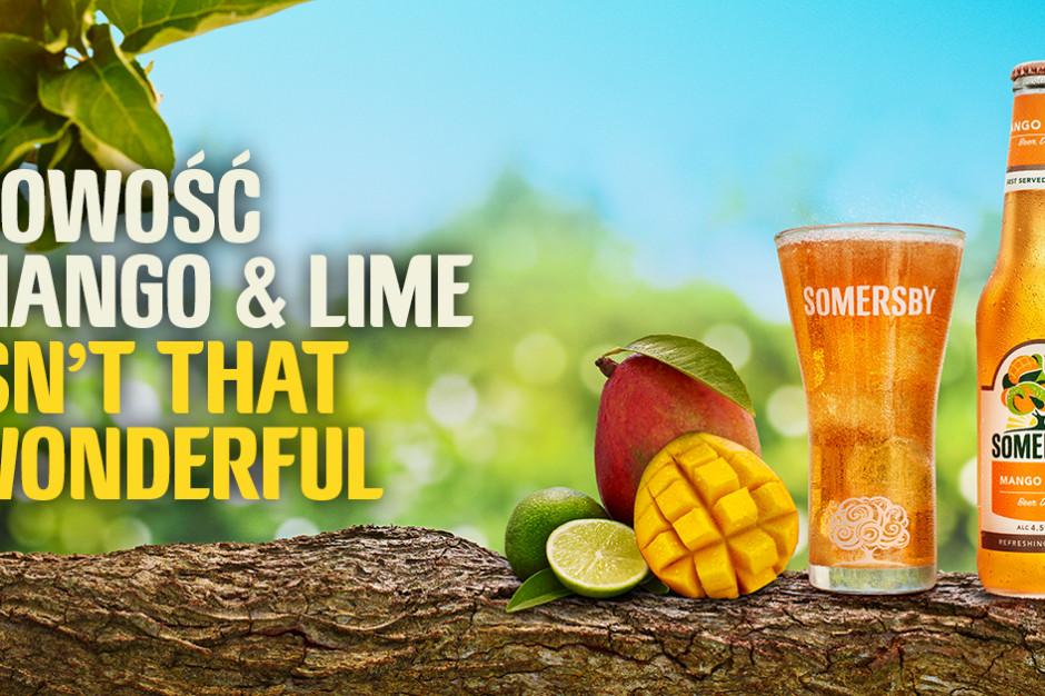 Somersby Mango & Lime z reklamowym wsparciem