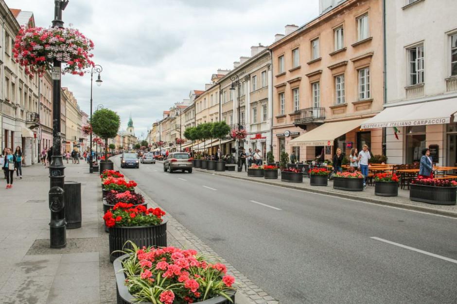 Ulice handlowe w Warszawie mają szanse wrócić do łask