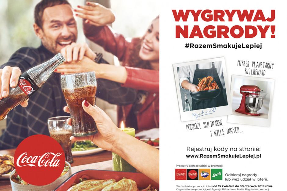Coca Cola wzmacnia sprzedaż loterią