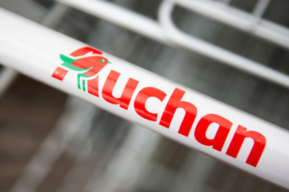 Hipermarkety Auchan na Ukrainie promują polską żywność