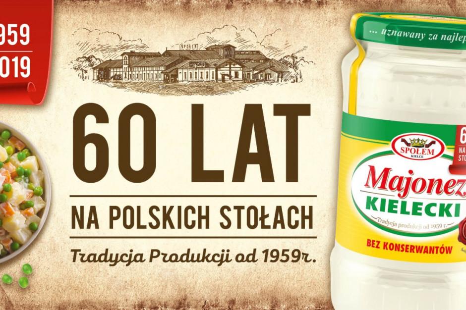 Majonez Kielecki świętuje 60. urodziny kampanią
