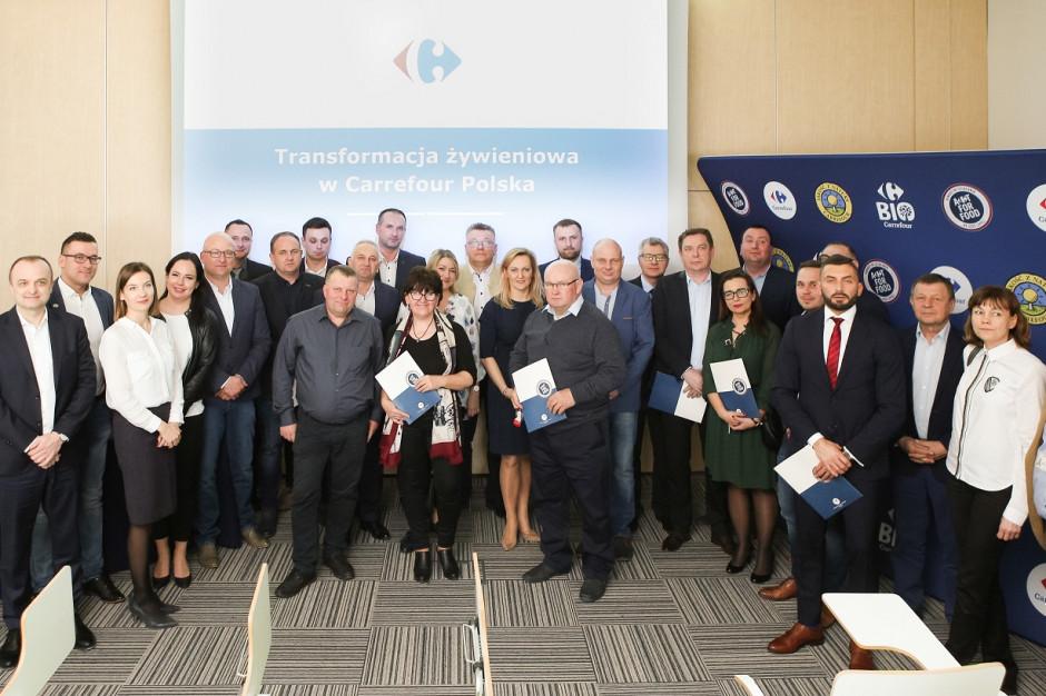 Carrefour podpisał umowy z 10 producentami