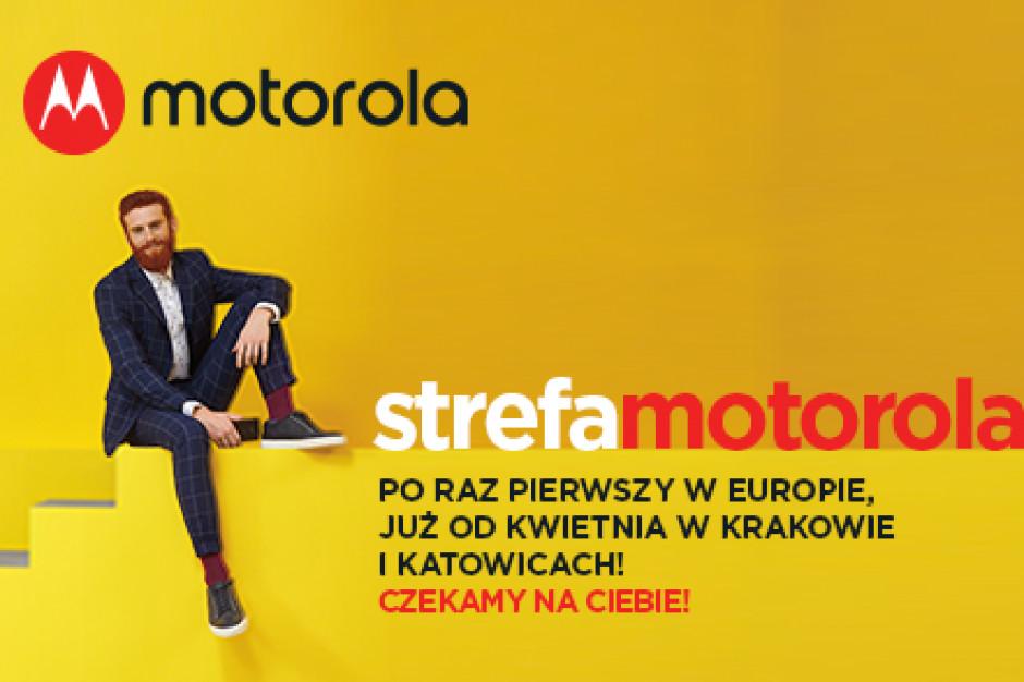 Pierwsze w Europie Strefy Motorola zostaną otwarte w Polsce