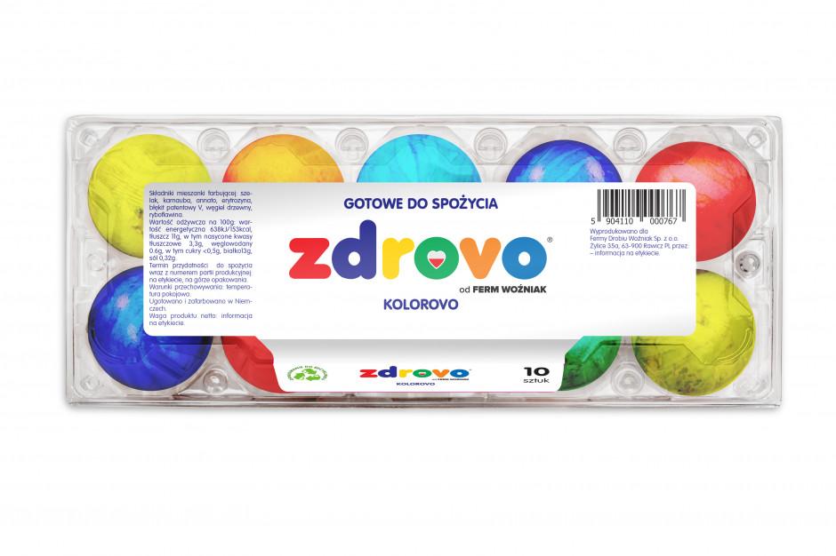 Fermy Woźniak: Gotowe do spożycia jaja w kolorowych skorupach to odpowiedź na trend convenience