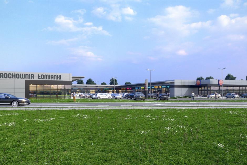 W Łomiankach rusza budowa parku handlowego. Operatorem spożywczym niemiecka sieć handlowa