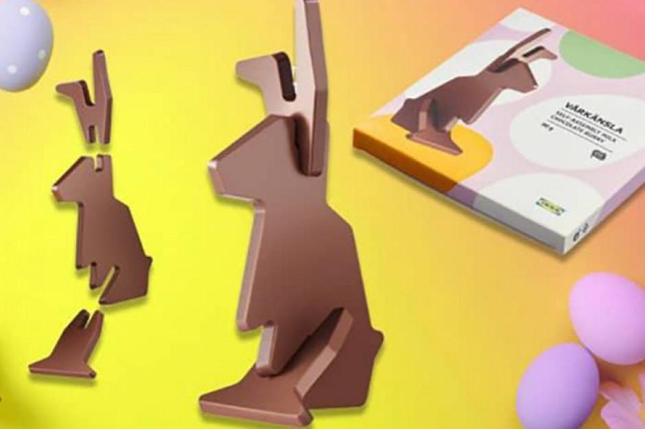 IKEA: W sprzedaży czekoladowy królik, którego trzeba samodzielnie złożyć