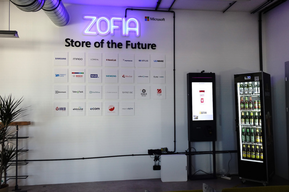 Sklep przyszłości Microsoftu. Innowacyjne rozwiązania dostępne na warszawskim Grochowie (galeria)