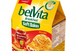BelVita wprowadza ciastka nadzieniem o smaku czekoladowym i truskawkowym