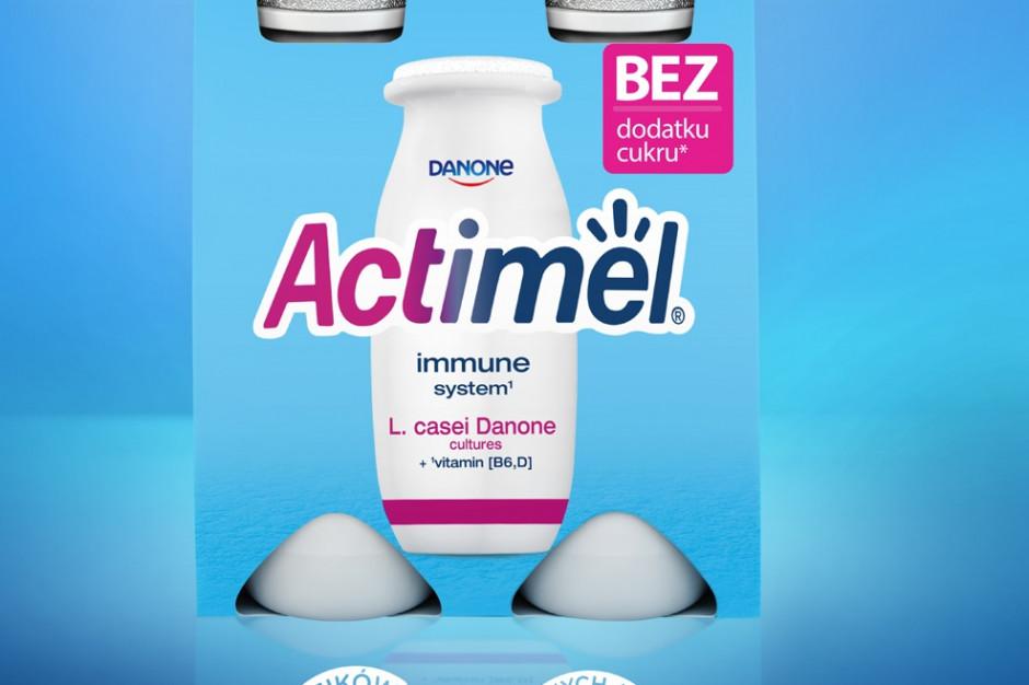 Nowy Actimel bez dodatku cukru