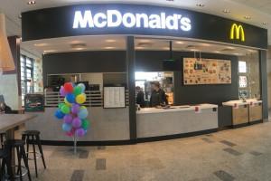McDonald's na dworcu kolejowym w Radomiu