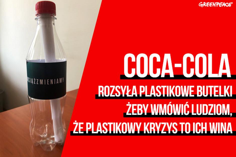 Greenpeace krytykuje akcję Coca-Coli: Recykling to bajka