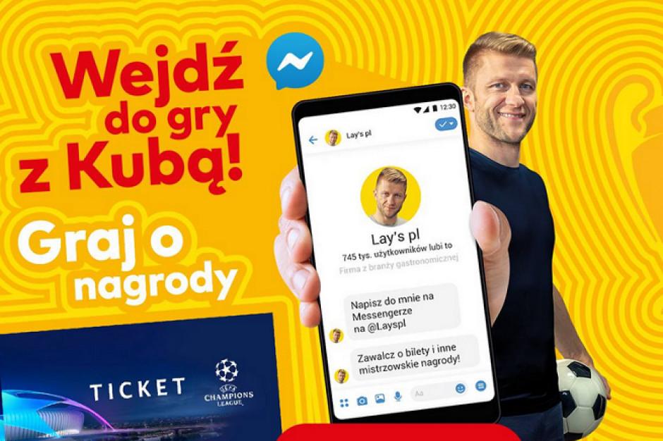 Kuba Błaszczykowski promuje konkurs marki Lay's