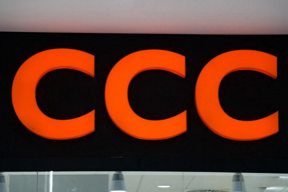 Sprzedaż CCC rośnie w kwietniu o 20 proc.