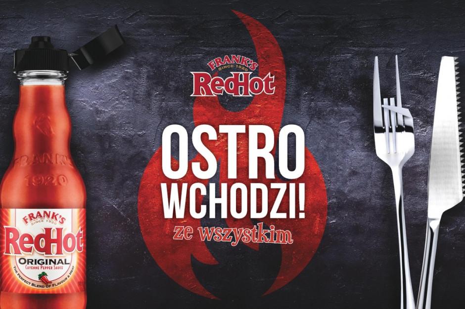 FRANK'S RedHot wchodzi do Polski wsparty kampanią