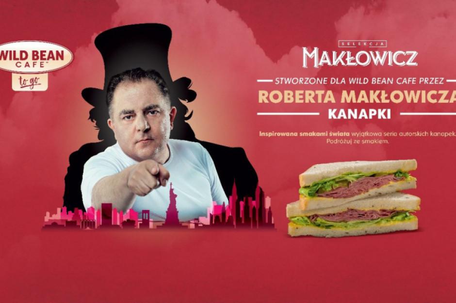 Robert Makłowicz stworzył kanapki dla Wild Bean Cafe