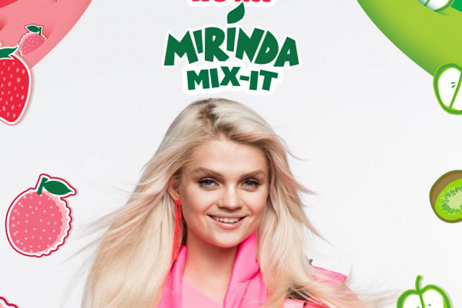 Mirinda promowana w teledysku Margaret