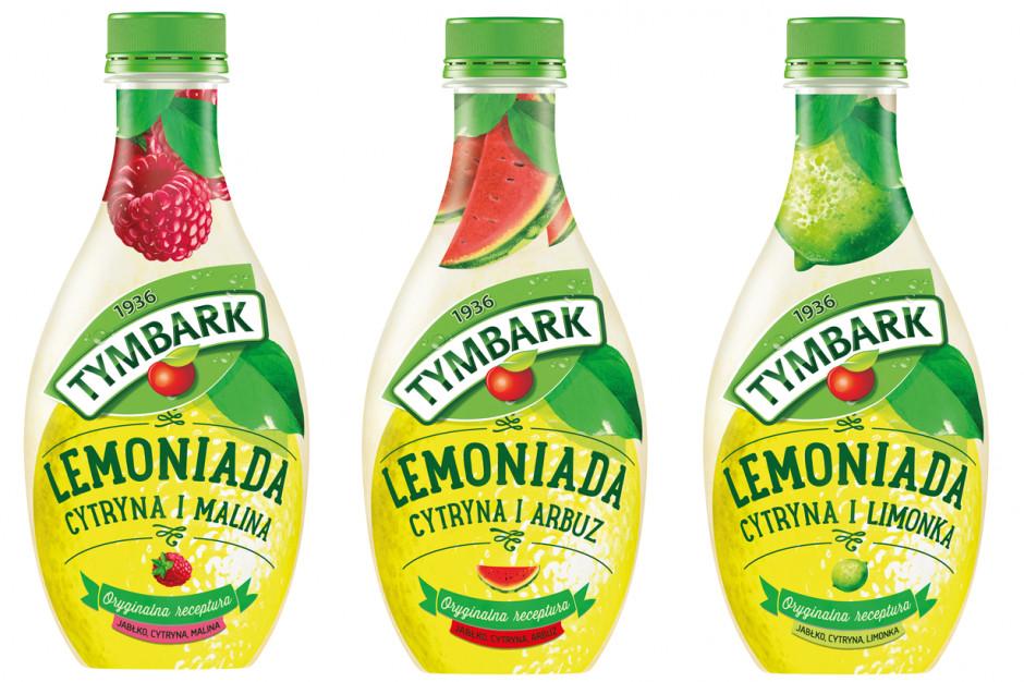 Lemoniada Tymbark z nowym arbuzowym smakiem