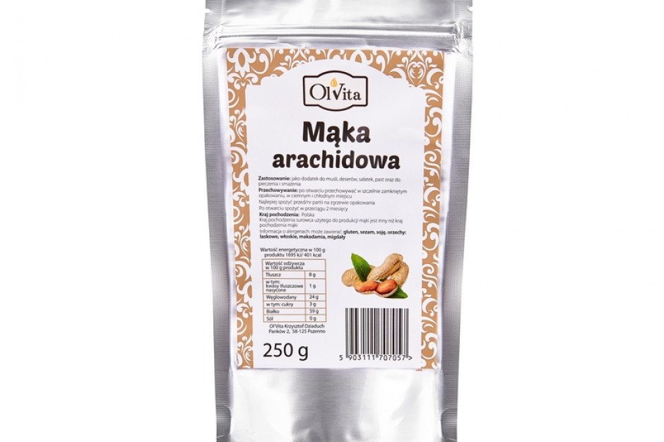 Mąka arachidowa marki Ol'Vita