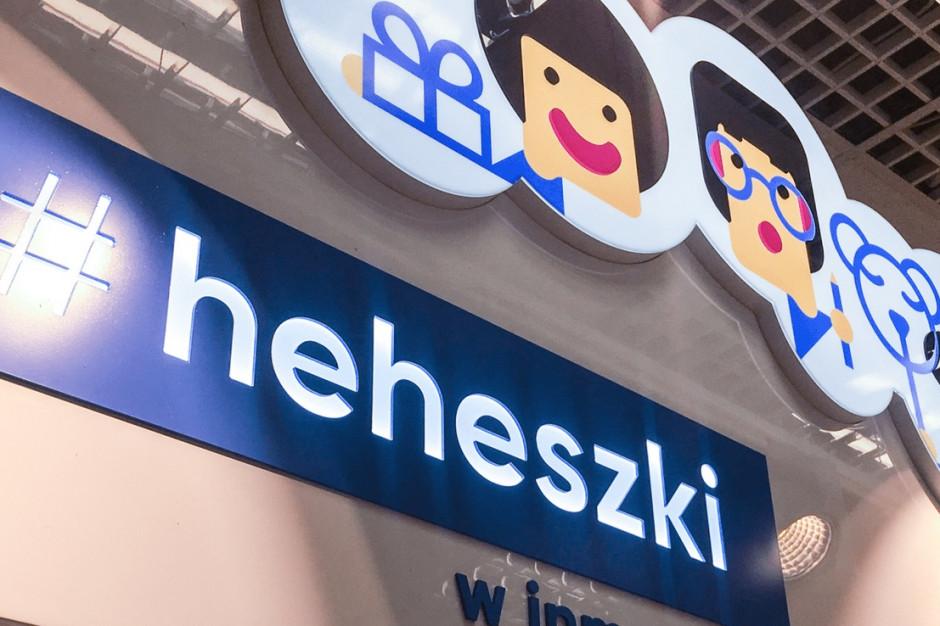 #heheszki - nowe regały w sklepach Inmedio. Do końca roku ma ich powstać 100