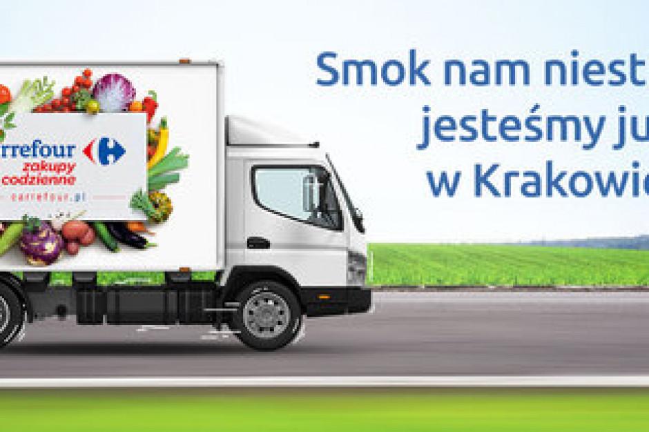 Carrefour wchodzi do Krakowa z ofertą e-grocery