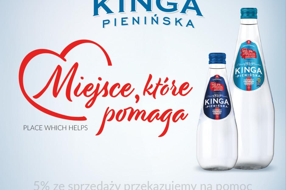 Kampania Kingi Pienińskiej rozszerzona na gastronomię