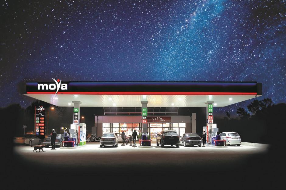 Sprzedaż paliw na stacjach Moya wyższa o ponad 10 proc. rdr