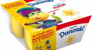 Danonki wspierają sprzedaż loterią