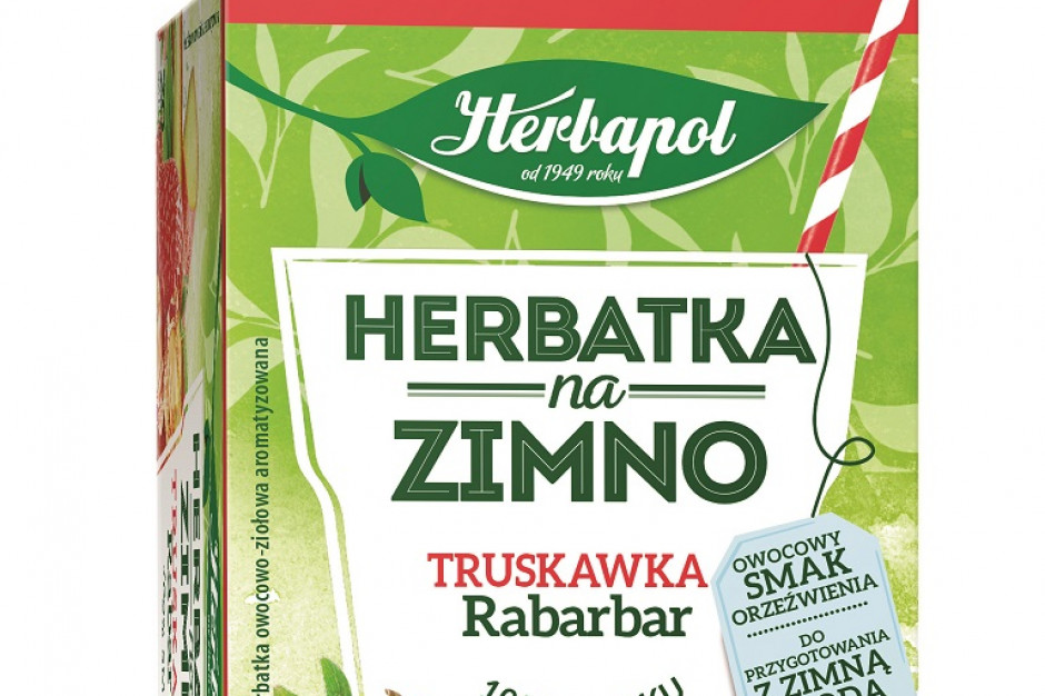 Herbatki na zimno od marki Herbapol