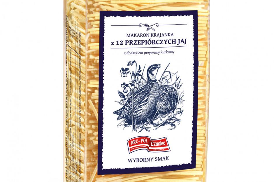 """Makaron z 12 przepiórczych jaj """"Pasta i basta"""" od Arc-Pol"""