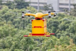 DHL Express z dronami miejskimi w Chinach