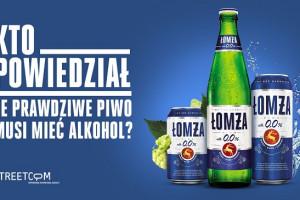Mikroinfluencerzy promują bezalkoholową Łomżę