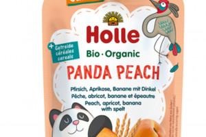 Panda Peach – nowy mus owocowy z orkiszem od Holle