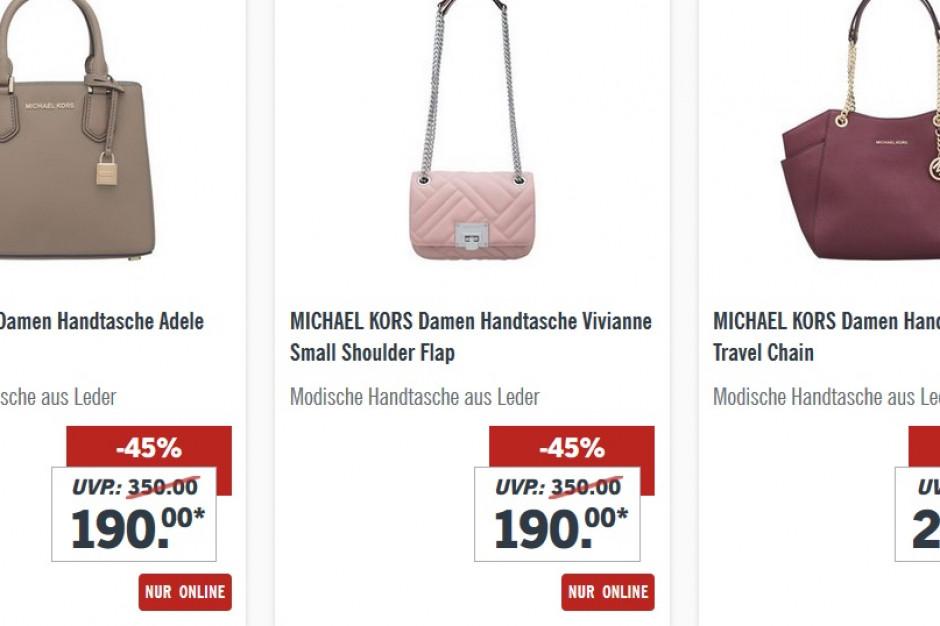 dcf1243fa333f Lidl sprzedawał w Polsce torebki Michael Kors za 799 zł, w Niemczech ceny  zaczynają sie