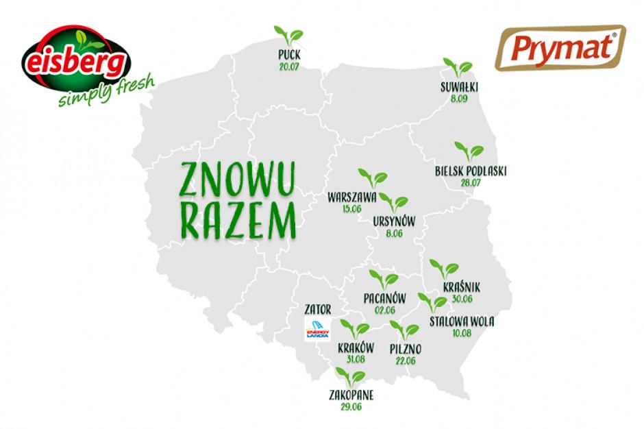 Czerwony Food Truck marek Prymat i Eisberg wyrusza w Polskę