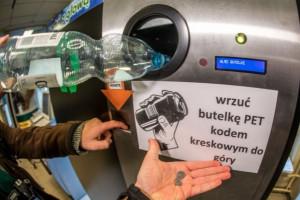 Kraków: Pierwszy w Polsce automat na butelki plastikowe już nie działa