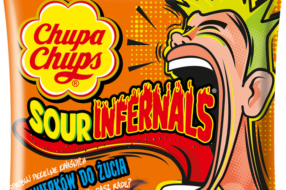 Kwaśne Chupa Chups ukłonem w stronę millenialsów