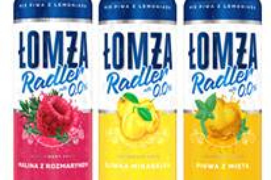 Owocowe smaki Łomża Radler