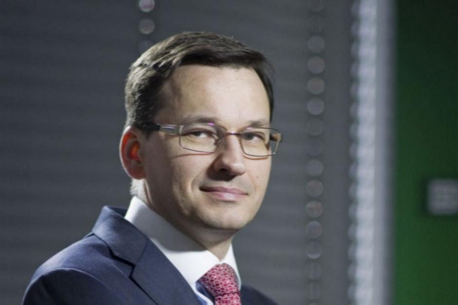 Premier: Chcemy, by Polacy zarabiali w ciągu kilku, kilkunastu lat na poziomie europejskim