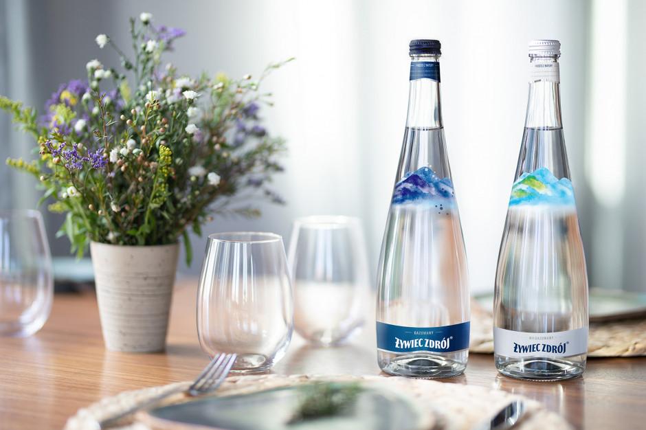 Żywiec Zdrój dla HoReCa w szklanych butelkach