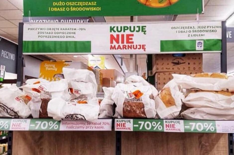 """Akcja """"zero waste"""" w sklepach Lidl nadal trwa. Testy w ponad 200 placówkach"""