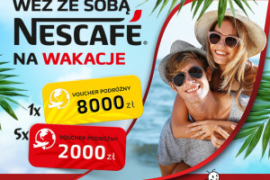 Nescafé z konkursem w sklepach Biedronka