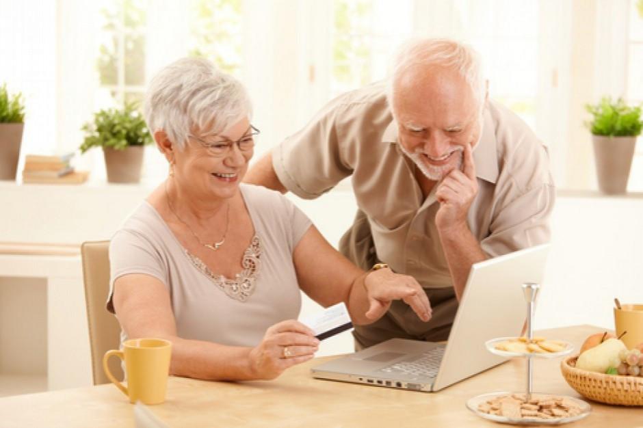 Seniorzy to już 25 proc. klientów online
