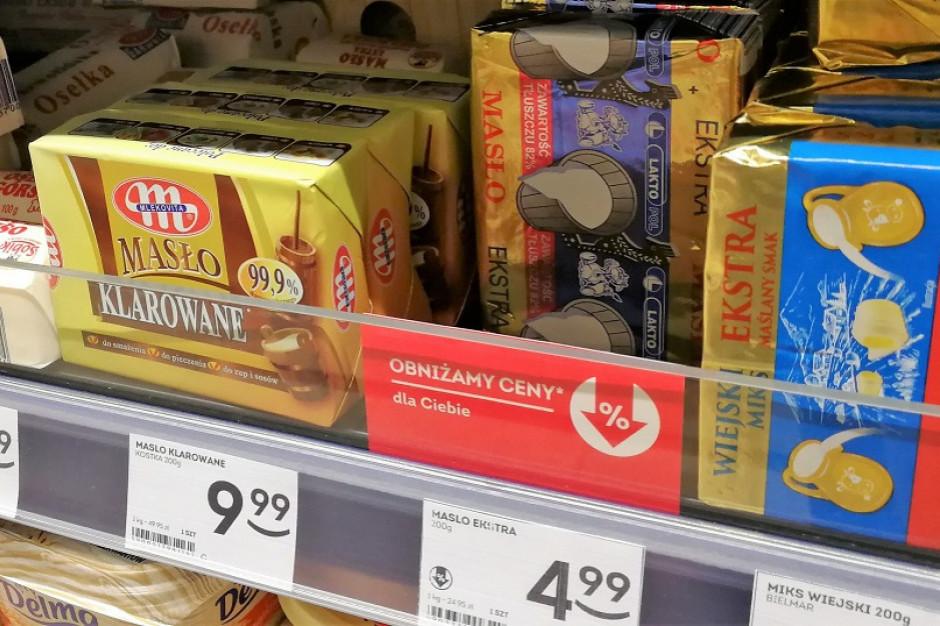 Ceny masła na zeszłorocznym poziomie