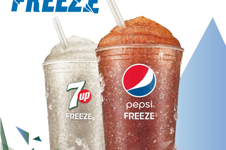 Mrożone napoje gazowane od PepsiCo w wybranych restauracjach Burger King oraz KFC