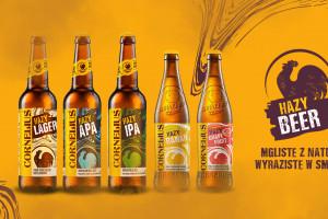 Hazy Beer - piwa Cornelius po rebrandingu