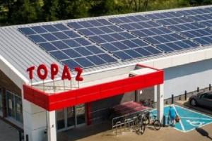 Sieć Topaz inwestuje w odnawialne źródła energii (wideo)
