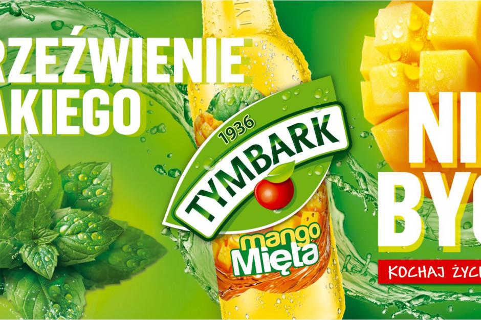Tymbark rozpoczyna kampanię napoju mango-mięta