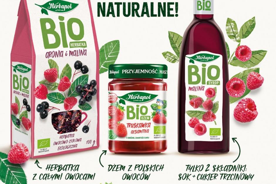 Herbapol-Lublin z kampanią promującą linię produktów BIO