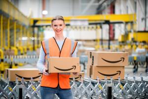 Amazon otwiera centrum logistyczne koło Bolesławca. Szuka pracowników