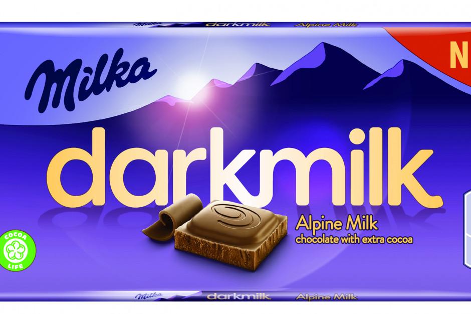 Mondelez Polska rozszerza portfolio o nową czekoladę – Milka darkmilk